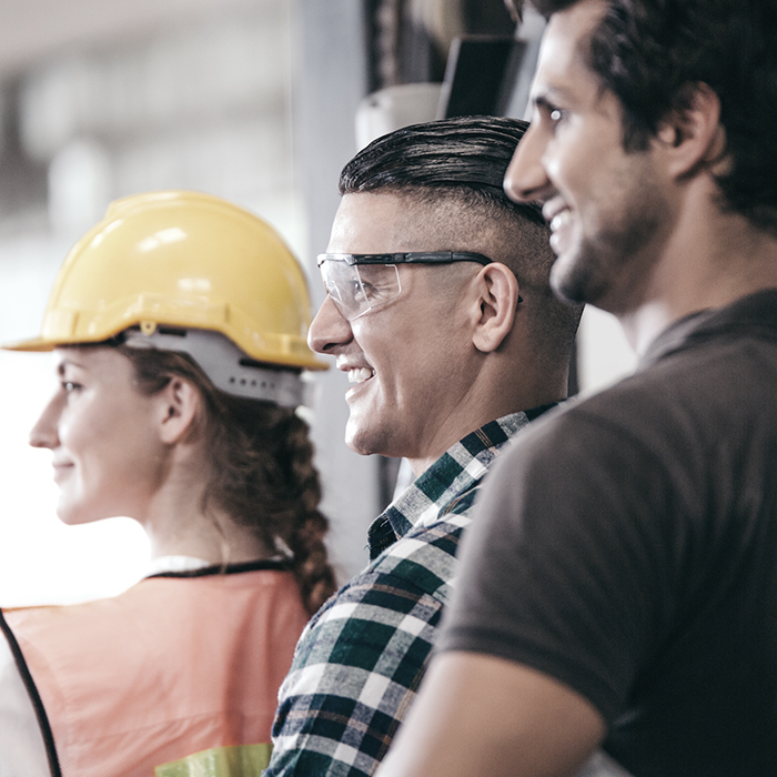 Photo of construction workers - construction liability insurance