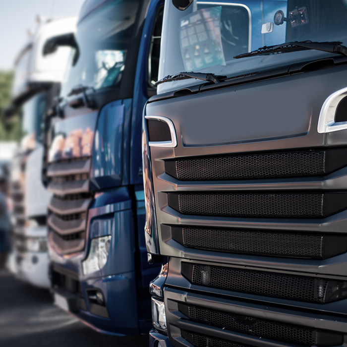 Photo of lorries - Motor fleet insurance