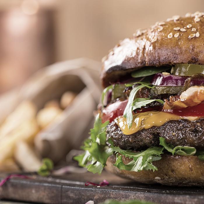 Photo of a burger - Shops, offices, pubs & restaurants insurance