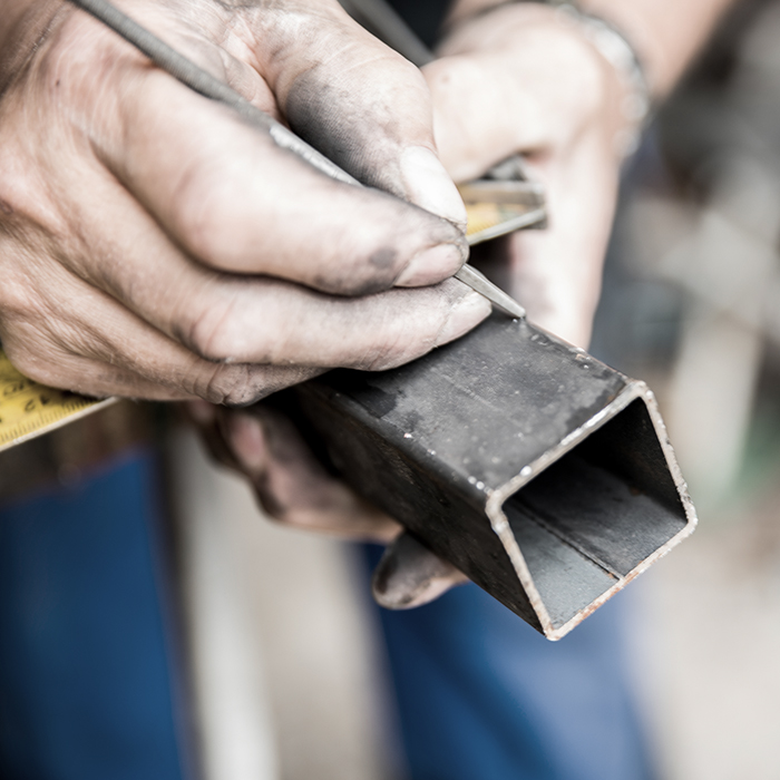 Photo of a tradesman at work - traders combined insurance