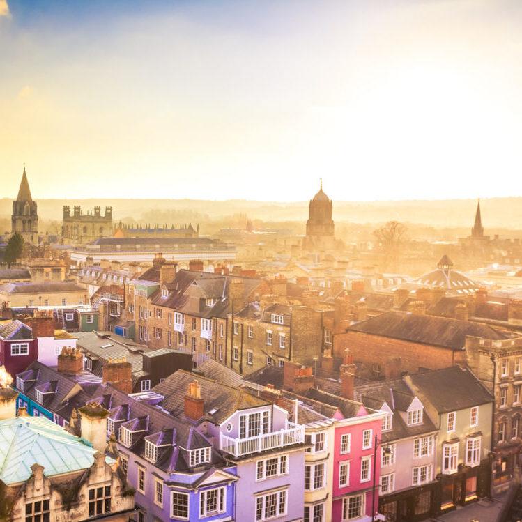 Photo of Oxford skyline